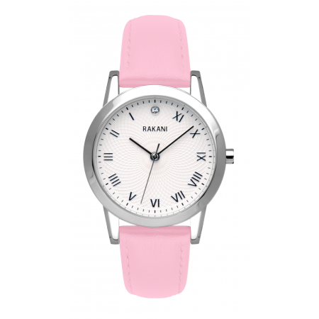 Running Behind - Lotus Watch w/ Pink Rose Leather (32mm)