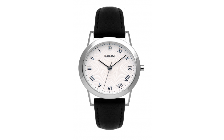 Running Behind - Lotus Watch w/ Black Leather (32mm)