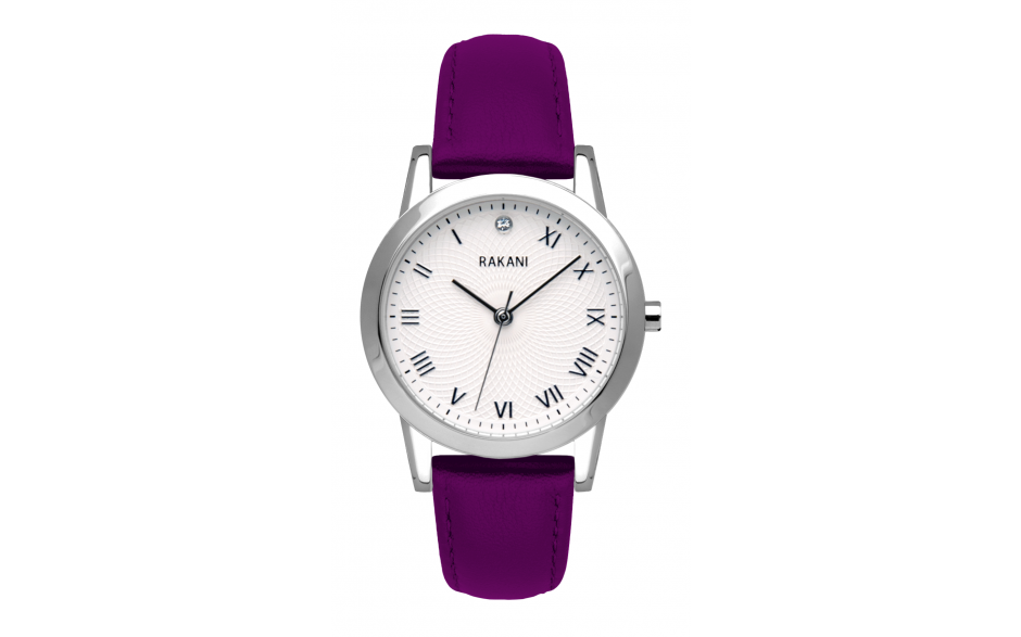 Running Behind - Lotus Watch w/ Purple Leather (32mm)