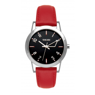 +5 - Black Watch w/ Red Leather (32mm)