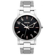 +5 - Black Watch w/ Stainless Steel (40mm)