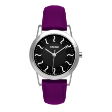 ISH - Black Watch w/ Purple Leather (32mm)