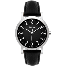ISH - Black Watch w/ Black Leather (40mm)