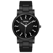 ISH - Black Watch w/ Black Steel Case and Band (40mm)