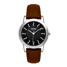 ISH - Black Watch w/ Dark Brown Leather (32mm)