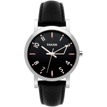 +5 - Black Watch w/ Black Leather (40mm)