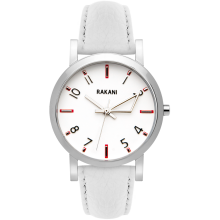 +5 - White Watch w/ White Leather (40mm)
