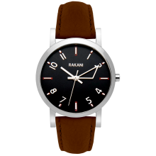 +5 - Black Watch w/ Dark Brown Leather (40mm)