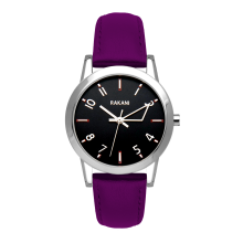 +5 - Black Watch w/ Purple Leather (32mm)