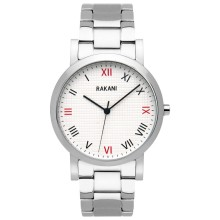 Running Behind - Checkered Watch w/ Stainless Steel (40mm)